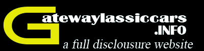 Gateway Classic Cars - Full Customer Disclosure Site